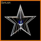 SpinLight Star ball blue